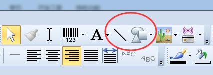 如何在BarTender中使用表格?