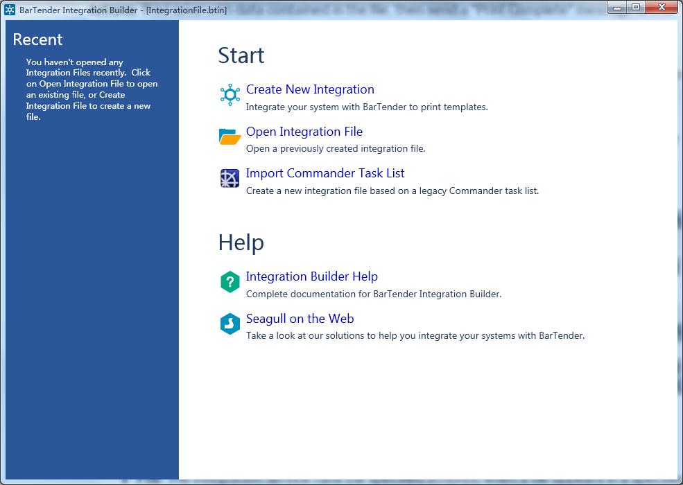 如何使用BarTender的Integration Builder?