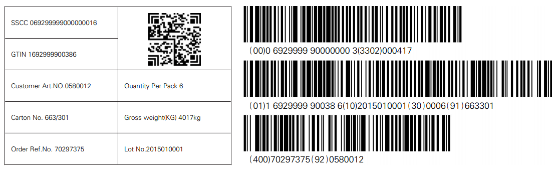 如何使用BarTender打印零部件标签?