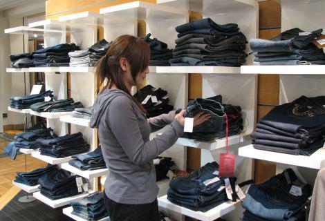 服装业应用电子标签(RFID)及数据采集器